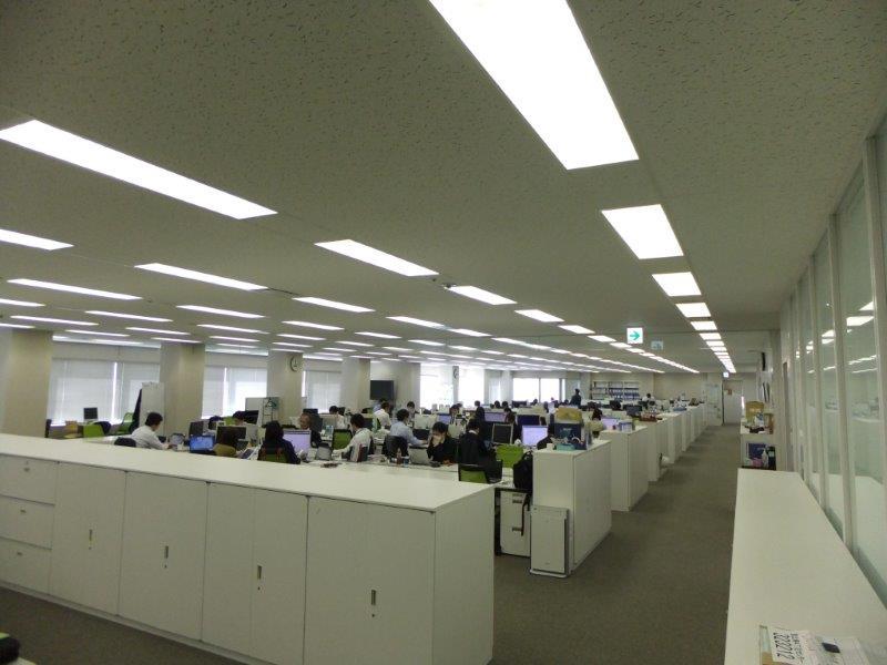 恵比寿ガーデンプレイス内の瀟洒なオフィス!明るい雰囲気です。