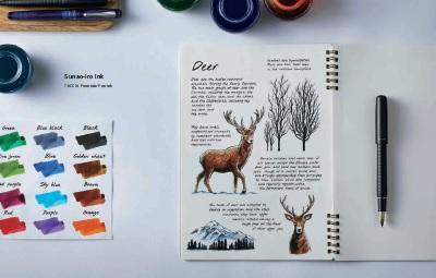 海外テイストのデザインと色合いが美しい文房具の魅力を欧州市場に広めていただくのがミッションです。